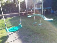 Tp swing frame with swings
