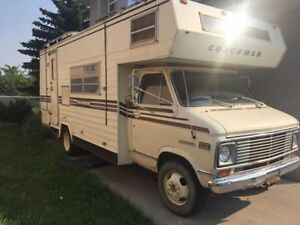 1975 GMC Cutaway Coachmen 25 Foot Motorhome