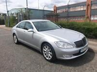 ***MERCEDES BENZ S320 CDI FULL SERV HISTORY JUST BEEN SERVICED+HEATED LEATHER+DRIVES LOVELY***£6990!