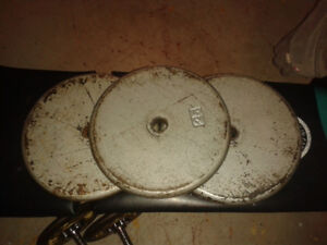 Barbell and Weights for sale