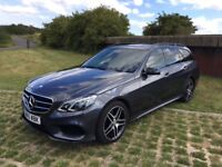 MERCEDES E CLASS E220 CDI AMG LINE NIGHT EDITION ESTATE DAMAGED REPAIRED CAT D