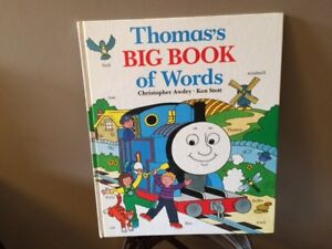 Thomas's Big Book of Words by Christopher Awdry and Ken Scott