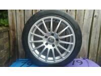 Bmw Alloys 15 Spoke Pirellis