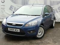 2008 FORD FOCUS 2.0 TITANIUM 5 DOOR HATCHBACK 16 INCH ALLOY WHEELS PRIVACY GLASS