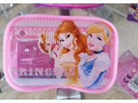 Brand New w/ Tags - Disney Princess Hair Accessories & Bag Set [Belle, Cinderella]
