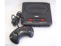 Sega Mega Drive 2 with 3 Games, New RF Cable + 2 Controllers