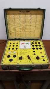 Tube Tester TEST-O-MATIC for Sale, Vintage - Many More Items