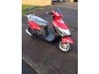 BRAND NEW SUZUKI AN 125 RED MOPED SCOOTER 2017 2016 PLATES AVAILABLE