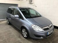 2010 Vauxhall Zafira 1.8 *1 Owner From New *7 Seater* Alloys, Air Con, Tow Bar 3 Month Warranty