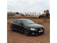 Audi A3 black edition replica