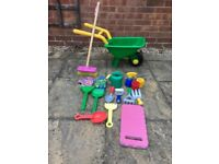 Childrens garden toys