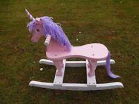 Childrens rocking Unicorn - Horse - Pony