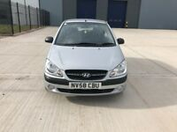 Hyundai Getz 2009 1.4 Petrol With Full Service History and Long MOT, One Owner Car