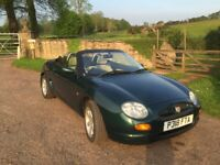 Mgf 1997 British racing green