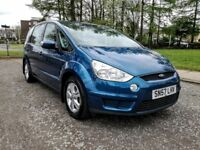2007..FORD S-MAX ZETEC 2.0 TDCI 6G..NEW LONG MOT..FULL SERVICR HISTORY+NEW OIL..7 SEATS..118k..VGC.