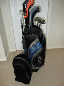Set of Golf Clubs w/ Bag