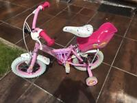 "Cupcake 12"" Girls Bike"
