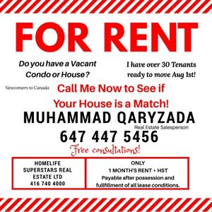 Need Property Owners with Vacant Homes in Toronto!