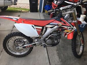 Crf250r duel fmf pipes runs great