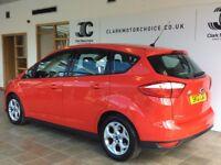 Ford C-Max ZETEC (red) 2012-03-08