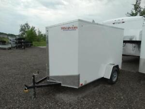 Small Enclosed Utility Trailer for Sale