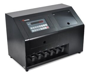 Cassida Corporation Canadian Coin Counter, Coin Sorter (C900CAD)
