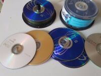 60 Blank Assorted 4.7GB Recordable CDs and DVDs