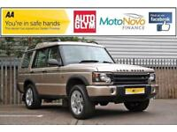 2002 Land Rover Discovery 4.0 i V8 ES Station Wagon 5dr (7 Seats) Petrol gold Au