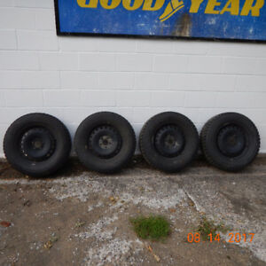 Ford Escape winter tire and rim package for 2013+ Escapes