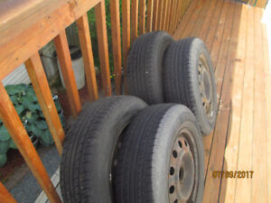 205 65R15 tires and rims