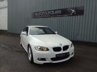 BMW 3 SERIES 320i M SPORT (white) 2009