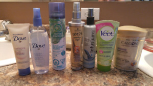 Hair and bath products