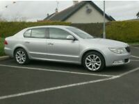 2013 Skoda Superb 140bhp Se, Half Leather/Suede Interior.