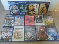 Joblot: 16 x Playstation 2 Games