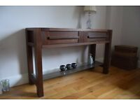 Console table and sidetable