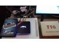 T96 Pro 3G+16G Android 6.0 Marshmallow BT4.1 HD 4K 2.4G+5.8G Smart TV Box