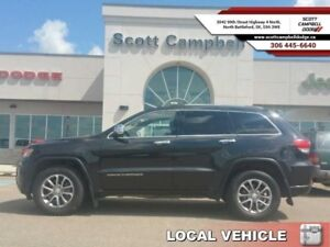 2014 Jeep Grand Cherokee LIMITED  - local - trade-in - sk tax pa
