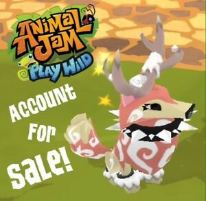 Animal Jam Play Wild Account for Sale