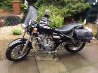 Keeway superlight 125cc 2014 motorcycle