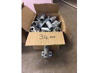 34mm Galvanised tube & fittings