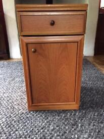 Cute floor standing cupboard with drawer