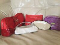 5 Designer Make-up/Wash Bags