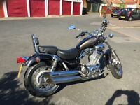 Yamaha Virago XV 535DX very low mileage 51 plate full mot . 6074 miles with documentation to prove.