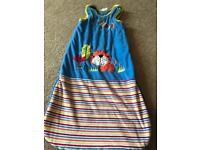 Snuggle tots tiger jungle sleeping bag 6-18 months sleeping pod nursery bedding