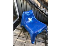 FREE PS VAGO IKEA BLUE GARDEN CHAIR