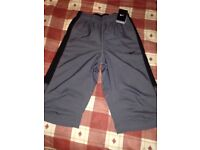 **Brand New With Tags** Nike 3/4 Pants - Mens - Colour Grey - Size Small - £10