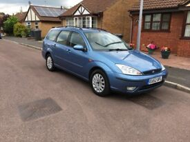 52 FORD FOCUS 1.6 AUTOMATIC AUTO ESTATE CAR 177K ICE COLD AIR CON 12 MOT £695