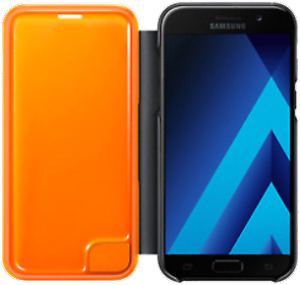 UNLOCKED AS NEW SAMSUNG GALAXY A5 WITH NEON FLIP CASE!!!!