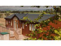 Lodge for sale – Lancashire Yorkshire Border 12 month season, fantastic views