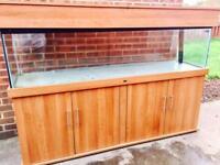 ND Aquatics 6ft Fist Tank Aquarium & Cabinet